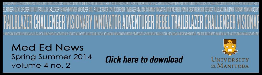 Med Ed Newsletter banner